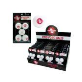 72 Units of Georgia Ping Pong Balls Countertop Display - Home Goods