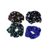 144 Units of Butterfly Layered Chiffon Hair Twister - Hair Scrunchies
