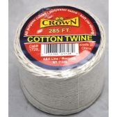 72 Units of 285ft Cotton Twine - Rope and Twine
