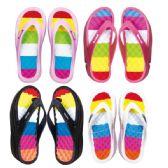 24 Units of Women's Heel Flip Flops