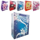 "72 Units of 3D Gift bag 12x5x17""/XL"