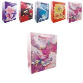 "144 Units of 3D Gift bag 7.5x4x9.5"" - Gift Bags"