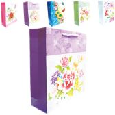 "144 Units of 3D Gift bag 12x4.5x16.5""/XL"