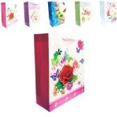 """144 Units of 3D Gift bag 10x4x12.5""""/L"""
