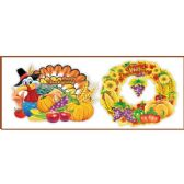 144 Units of 3D Thanksgiving Cutout - Halloween & Thanksgiving