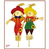 "96 Units of 27""harvest scarecrow - Halloween & Thanksgiving"