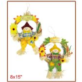 "96 Units of 8x15""harvest scarecrow - Halloween & Thanksgiving"