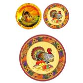 "48 Units of 10.25""/8ct Thanksgiving Plate - Halloween & Thanksgiving"