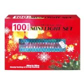 24 Units of 100L red light tray UL - Christmas