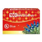 24 Units of 100l blue comp. ul - Christmas