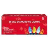 24 Units of 30L LED light multi UL - Christmas