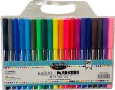 96 Units of 20 CT Washable Fine Tip Markers in Carrying Case