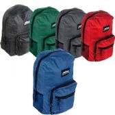 "24 Units of Deluxe BACKPACK 17"" - Backpacks 17"""