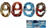 72 Units of INFINITY SCARF ASSORTED DESIGNS - Winter Scarves