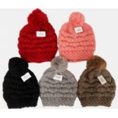 36 Units of Ski Hat with Pompom