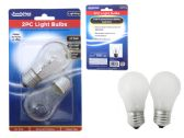 96 Units of 2pc 40 Watt Clear Lightbulb