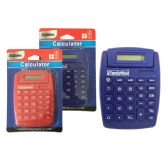 96 Units of Calculator In Blue, Red - Calculators
