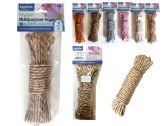 144 Units of 10m Rope Assorted Colors - Rope and Twine