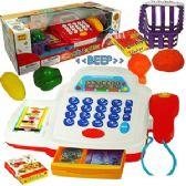 12 Units of  16 PIECE CASH REGISTER SETS W/ LIGHTS & SOUND. - Educational Toys