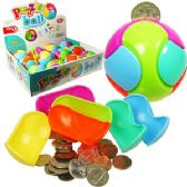 144 Units of LARGE MAGIC BALL PIGGY BANK PUZZLES.
