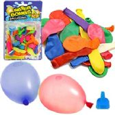 240 Units of 50 PIECE WATER BALLOON PACKS. - Balloons/Balloon Holder