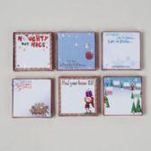 72 Units of Memo Pad 4x4 - Christmas Novelties