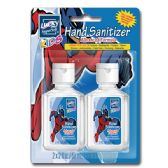 96 Units of 2 Pack Super Hero Kids Hand Sanitizer - Hand Sanitizer