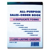 60 Units of All-purpose Sales Order Book-50ct - Sales Order Book