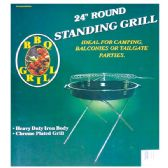 "4 Units of 24"" Standing grill folding w/ 4 legs"