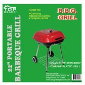 "2 Units of 22"" Covered grill w/wheel"