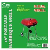 "2 Units of 18"" Covered grill w/wheel"