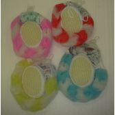 120 Units of 3pc Bath Scrubbers Set - Loofahs & Scrubbers
