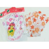60 Units of 2pc. Bath Scrubber Gloves - Loofahs & Scrubbers