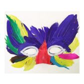 96 Units of Feather Mask - Masks