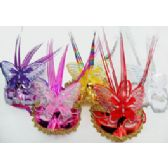 48 Units of Butterfly Sequin Mask - Masks