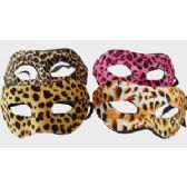 96 Units of Leopard Print Mask - Masks