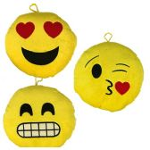 24 Units of Plush Emojis - Pillow Sacks