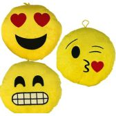 16 Units of Plush Emojis - Pillow Sacks