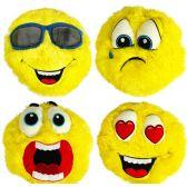 24 Units of Plush Furry Emojis - Pillow Sacks