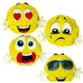 12 Units of Large Plush Emojis with Hands - Pillow Sacks