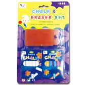 72 Units of Chalk&Eraser set - Chalk,Chalkboards,Crayons