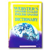 72 Units of Webster's Dictionary Spanish/English - Dictionary & Educational Books