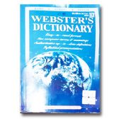 72 Units of Webster's Dictionary