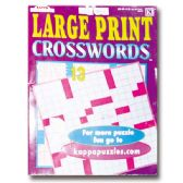 80 Units of Large Print Crosswords - Dictionary & Educational Books