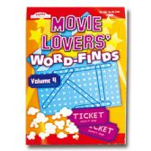 80 Units of Movie lovers Word-Finds