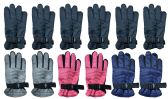 36 Units of Winter Ski Glove Junior Kids Heavy Duty - Ski Gloves