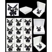 96 Units of EUROPEAN PENDANT BLACK CLOVER - Necklace Sets