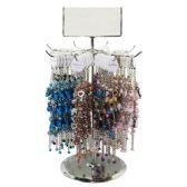 ASSORTED COLOR BEADED FASHION BRACELET SET - Bracelets