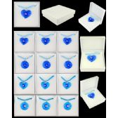 96 Units of ASSORTED BLUE COLOR MURANO GLASS NECKLACE - Necklace
