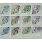 288 Units of ASSORTED COLOR MURANO PENDANT VENETIAN ARTE GLASS - Necklace
